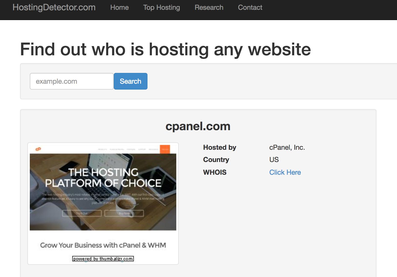 how to change hosting provider